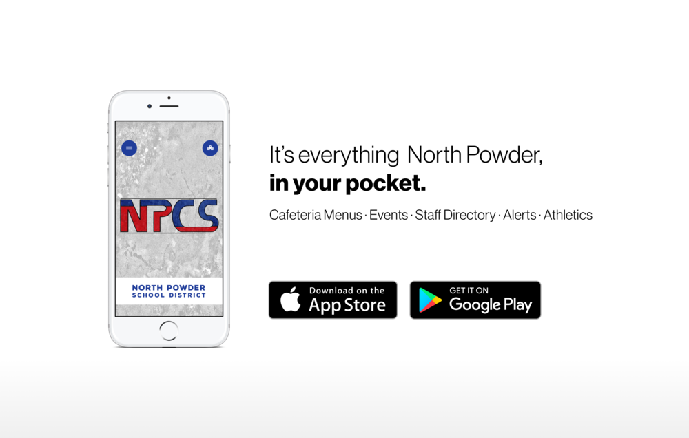 It's everything North Powder, in your pocket